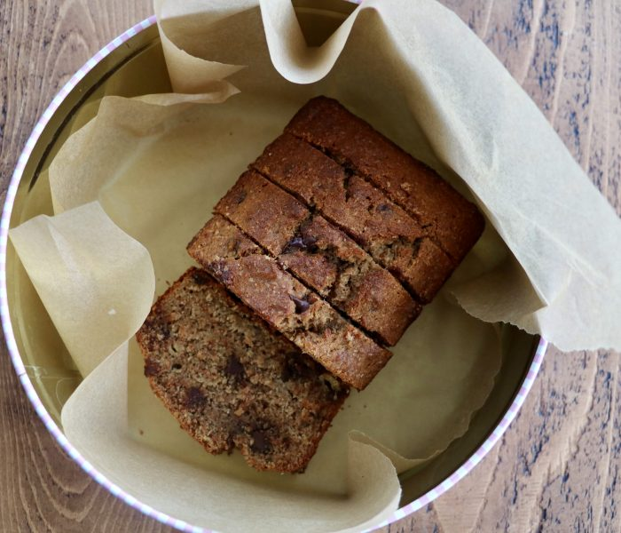 CARDAMOM CHOCOLATE BANANA BREAD